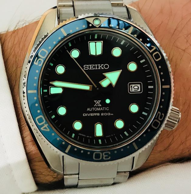 Seiko Prospex Diver Automatik SPB079J1 wristshot