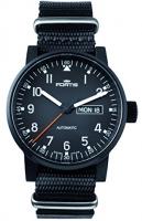 Fortis Spacematic Pilot Professional Black 623.18.71 N 01