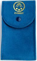 Everest Uhrenbeutel blau für Uhren mit Edelstahlband EHWPBLU
