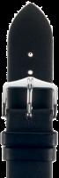 Hirsch Italocalf Kalbslederband L 17mm schwarz 17822050-1-17