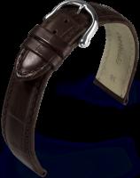 Maurice Lacroix Les Classiques Lederband Kroko imit. dunkelbraun 19mm 2930-27-19-2
