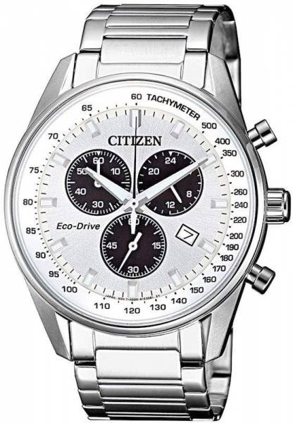 Citizen Eco-Drive Herren Chronograph 40mm AT2390-82A