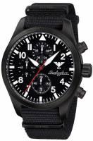 KHS Airleader Black Steel Chronograph KHS.AIRBSC.NB