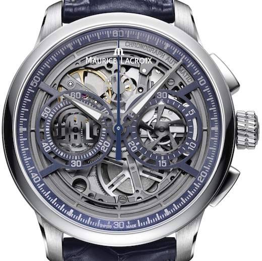 Maurice Lacroix Masterpiece Skeleton Chronograph MP6028-SS001-002-1