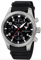 KHS Airleader Steel Flieger Chronograph KHS.AIRSC.NB