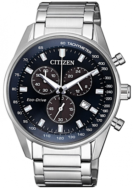 Citizen Eco-Drive Herren Chronograph 40mm AT2390-82L