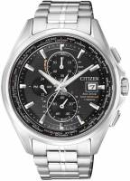 Citizen Elegant Eco Drive Funk Herren Chronograph Titanium AT8130-56E