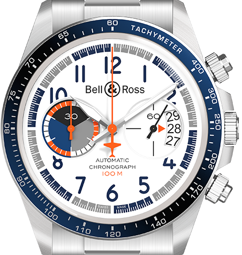 Bell & Ross Racing Bird Chronograph Limited Edition BRV294-BB-ST/SST