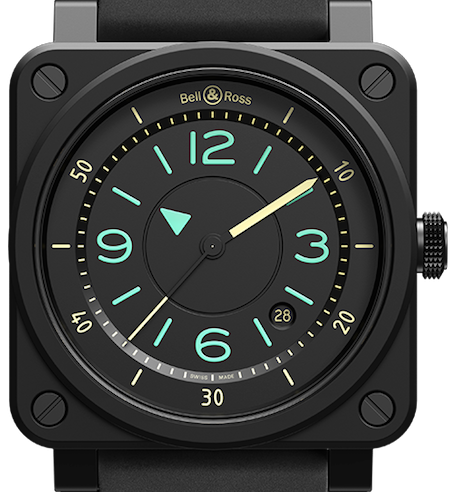 Bell & Ross BI-Compass Limited Edition BR0392-IDC-CE/SRB