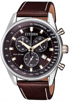 Citizen Eco-Drive Herren Chronograph 40mm AT2396-19X