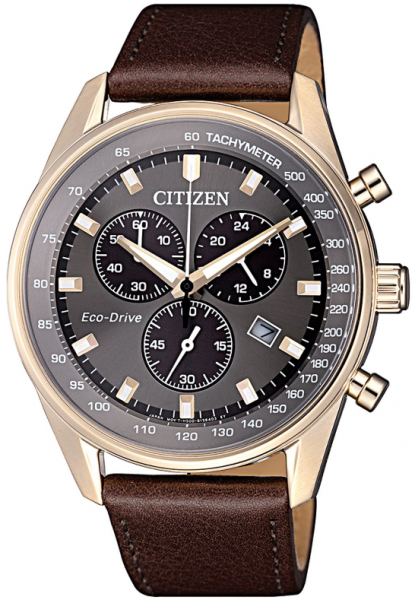 Citizen Eco-Drive Herren Chronograph 40mm AT2393-17H