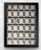 Rothenschild Uhrenvitrine für 30 Uhren RS-1100-30BL