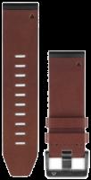Garmin Uhrenarmband Quickfit 26mm Leder braun 010-12517-04