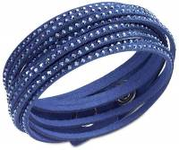Swarovski Slake Dark Blue Damen Armband 5037393