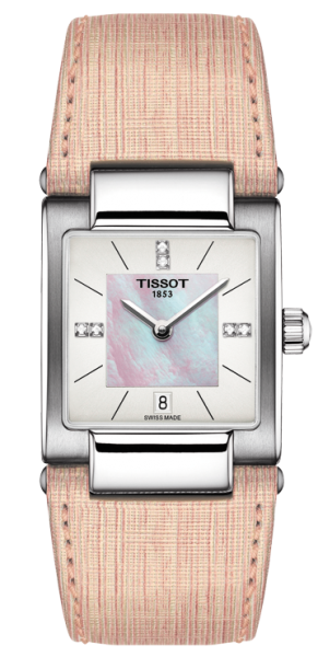 Tissot T Lady T2 Square Diamanten Damenuhr T090.310.16.116.00