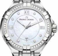 Maurice Lacroix Aikon 30mm Diamanten Damenuhr AI1004-SD502-170-1